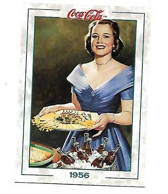 Coca Cola Collection Series 2 (1994) 1956 # 188 Lady with Tray of Snacks