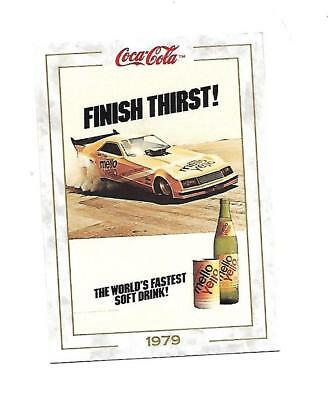 Coca Cola Collection (1993)  1979 # 82 Finish Thirst Mello Yellow Car Racing