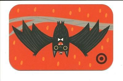 Target Halloween Gift Card No $ Value Collectible Bat