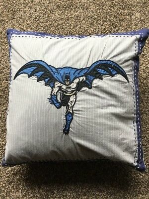 Pottery Barn Kids PBK Batman Square Decorative Pillow
