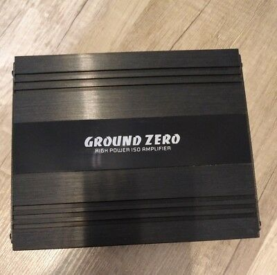 GROUND ZERO Plug & Play Endstufe