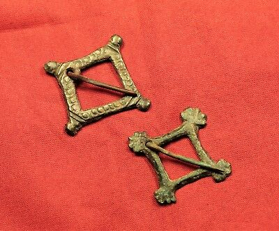 Fine Medieval Belt Buckle Pair - 13. Century