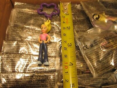 200 Polly Pocket Key Ring Danglers Party Toys Wholesale Pocket Money Goody Bags