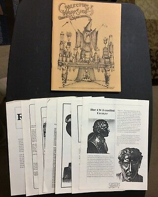 Collectors Workshop Catalogue 1987 + 7 supplementary pages