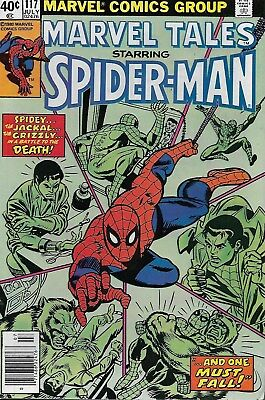 Marvel Tales No.117 / 1980 Reprints Amazing Spider-Man No.140 / Ross Andru