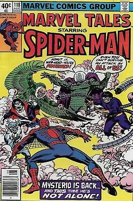 Marvel Tales No.118 / 1980 Reprints Amazing Spider-Man No.141 / Ross Andru