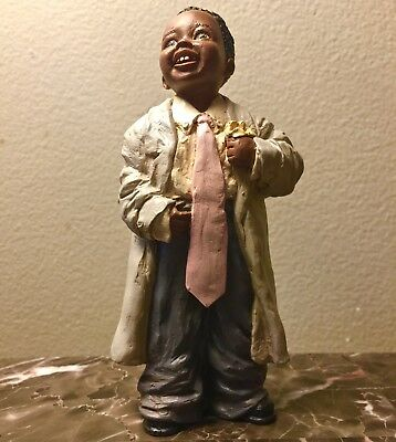 All God's Children Figurine Robert by Miss Martha Root with COA - NIB - 1998