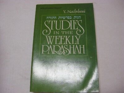 Studies In The Weekly Parashah Vayikra BY Y. NACHSHONI