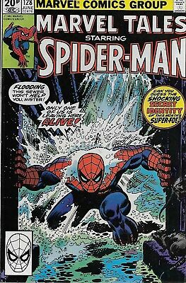 Marvel Tales No.128 / 1981 Reprints Amazing Spider-Man No.151 / Ross Andru