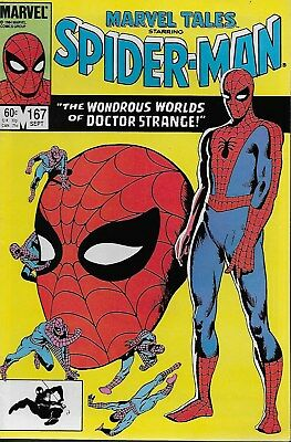 Marvel Tales No.167 / 1984 Reprints Amazing Spider-Man Annual 2 / Doctor Strange