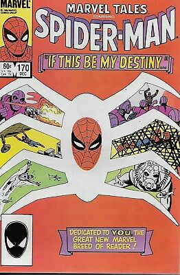Marvel Tales No.170 / 1984 Reprints Amazing Spider-Man No.31 / Steve Ditko