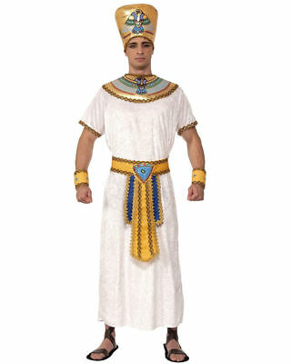 BRAND NEW Adults Mens Egyptian Pharaoh King Cleopatra Costume Large 42-44