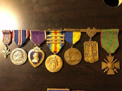 78th Division DSC PH medal group, 303rd Engineers New Jersey NJ Huge Archive!