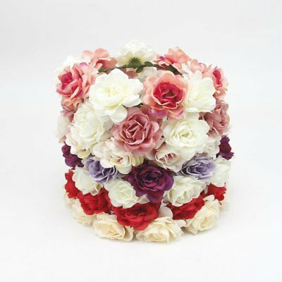Women Wedding Flower Hair Garland Crown Headband Floral Wreath Hairband Beach TU