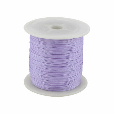 Maison DIY Art en Nylon Tressé Noeud Chinois Cordon Corde 153 Yards Violet Clair