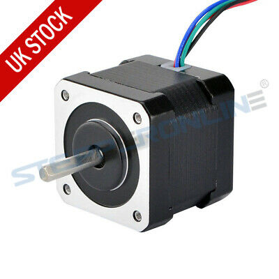 Nema 17 Stepper Motor 45Ncm 2A 4-wire 42x40mm w/ 1m Cable & Connector 3D Printer
