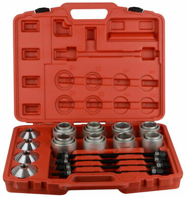 Professional Pull Press Sleeve Kit 28 pcs Remove Bushes Bushing Bearings Seals