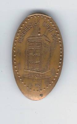 elongated Coin Doctor Who, Manchester 2007, Ex, Retired! 2987