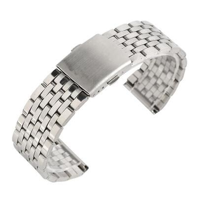 18mm 20mm 22mm Stainless Steel Watch Band Replacement for Wrist Watch Strap