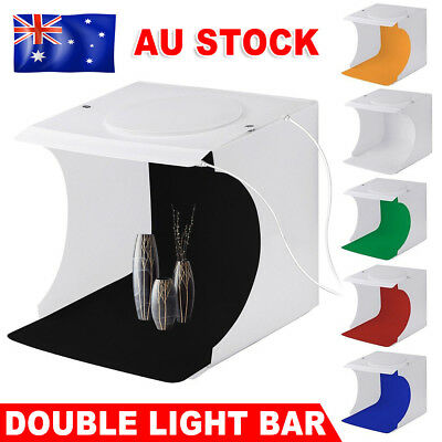 Light Room Photo Studio USB LED Lighting Tent Backdrop Cube Box Photography