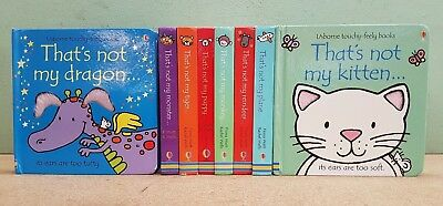 Collection 8 That's Not My Usborne Touchy-Feely Board Books