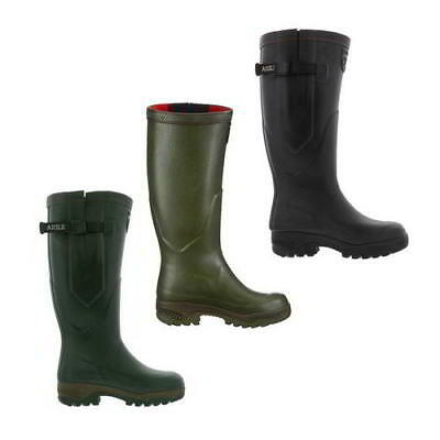 Aigle Parcours 2 ISO Mens Womens Neoprene Adjustable Wellies Wellington Boots