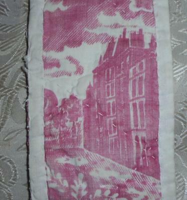 AUTUMN CLEAROUT, EARLY 19th CENTURY FRENCH TOILE DE JOUY c1815 13.