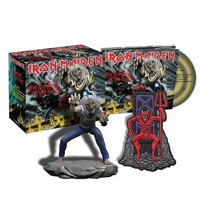 Iron Maiden - The Number of The Beast (NEW CD, FIGURINE & PATCH)