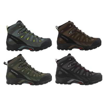 36f14a66717 SALOMON QUEST PRIME GTX Mens Gore-tex Waterproof Walking Hiking Boots Size  8-11