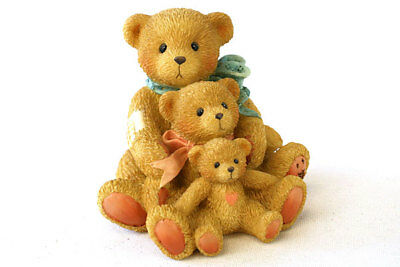 1991 Cherished Teddies Theadore Samantha Tyler Friends Come In All Sizes