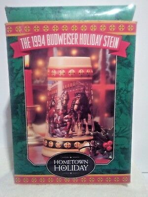 Anheuser Busch 2005 Christmas Holiday Ornament NIB