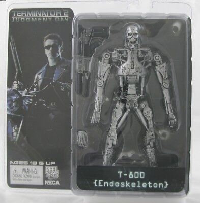 NECA Terminator 2 Judgment Day T-800 Endoskeleton 7'' Action Figure IA45E