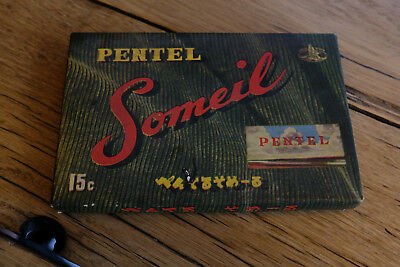 Vintage Box Pentel, Someil Artist Soft Oil Pastels from Japan