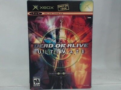 DEAD OR ALIVE ULTIMATE Xbox Complete CIB w/ Box, Manual Great