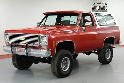 1978 Chevrolet Blazer Restored Big Block V8 Convertible Collector
