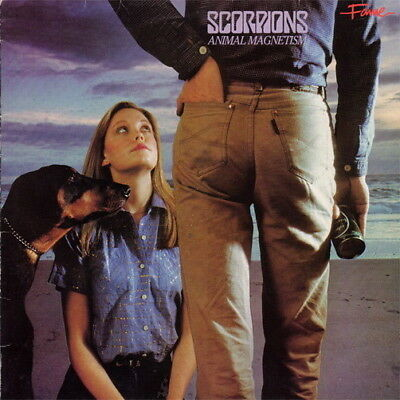 """Scorpions Animal Magnetism (Make It Real, The Zoo) 1980 EMI Harvest 12"""" LP"""