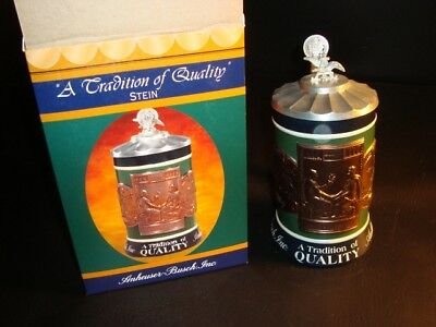 2003 Budweiser Tradition of Quality Stein, CS558, w/Box – FREE SHIPPING