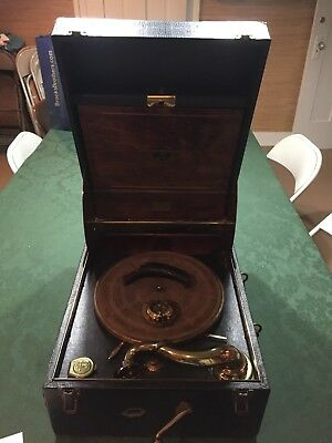 Rare Antique Columbia Grafonola Model 163 Phonograph - Early 20th Century