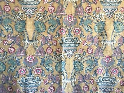Beautiful Late 19th or Early 20th C. Belgium or French Cotton Tapestry - (2356)