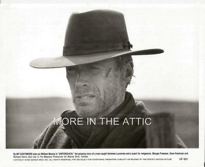 Clint Eastwood Unforgiven Original Vintage Western Portrait Still