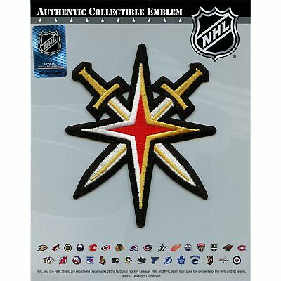 Las Vegas Golden Knights Secondary Team Logo Jersey Shoulder Embroidered Patch
