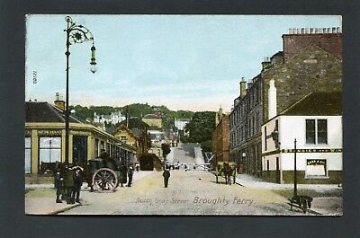 Broughty Ferry Dundee Angus - North Gray Street c1910