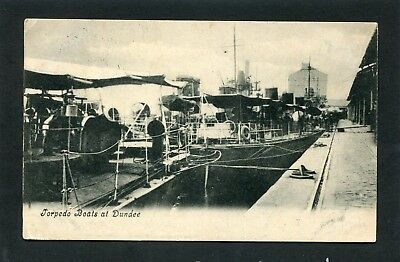 Dundee - Torpedo Boats in Harbour p/u 1906