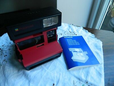 Polaroid 600   Instant Camera with instructions