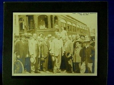 1906  -  First Train Chico To Oroville  -  Photograph
