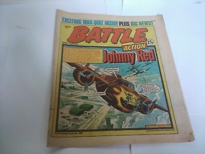 BATTLE ACTION Comic 9th May 1981