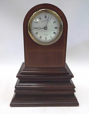 Vintage MAPLE & CO LTD Paris Small Mantle Clock With Plinth - M17