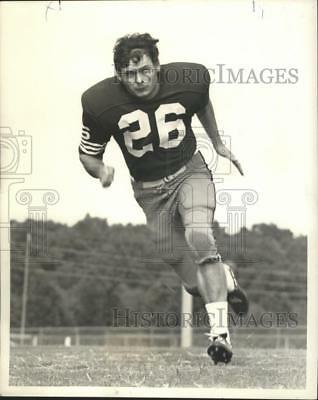 1972 Press Photo Football - Ray Boone, Defensive Back for Northeast Louisiana