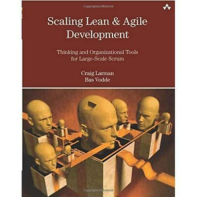 Scaling Lean and Agile Development: Thinking and Organi - Paperback NEW Larman,