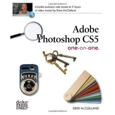 Adobe Photoshop CS5 One-on-One - Paperback NEW McClelland, Dek 2010-07-31